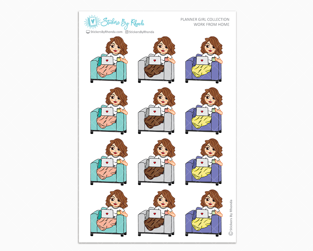 Amanda - Work From Home - Planner Girl Collection