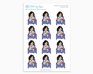 Crystal - Reading Time - Planner Girl Collection - Planner Stickers