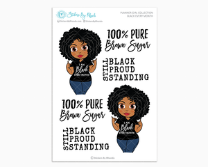 Ebony - Black Every Month - Limited Edition - Planner Girl Collection