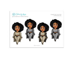 Ebony - Lounge and Chill - Limited Edition - Planner Girl Collection