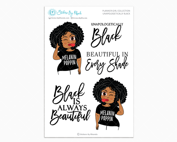 Ebony - Unapologetically Black- Limited Edition - Planner Girl Collection