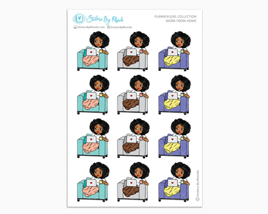Ebony - Work From Home - Planner Girl Collection