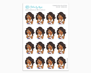 Tanya -  Spa Day - Manicure - Self-Care Stickers