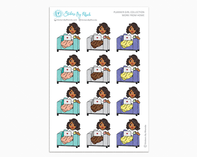 Tanya - Work From Home - Planner Girl Collection