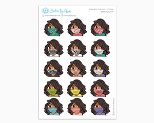 Tanya -  Stay Healthy - Planner Girl Stickers