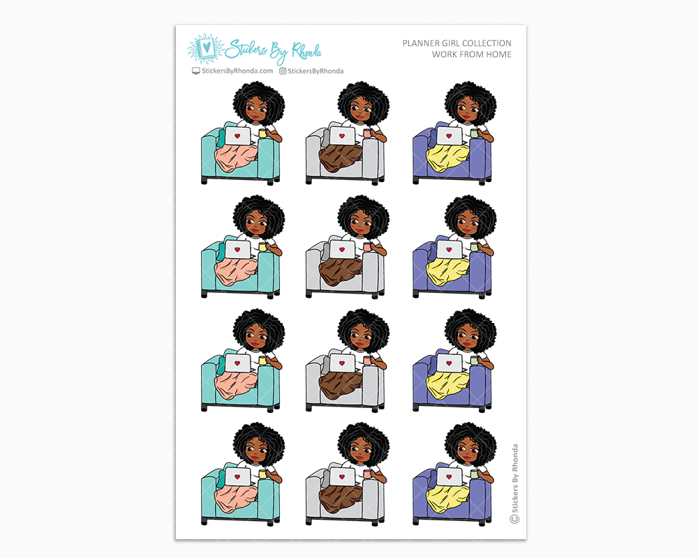 Tina - Work From Home - Planner Girl Collection