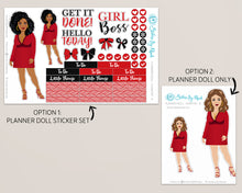 Planner Doll Stickers - Chantay