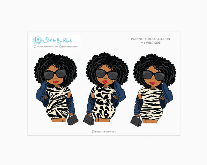 Ebony - Wild Side - Limited Edition - Planner Girl Collection