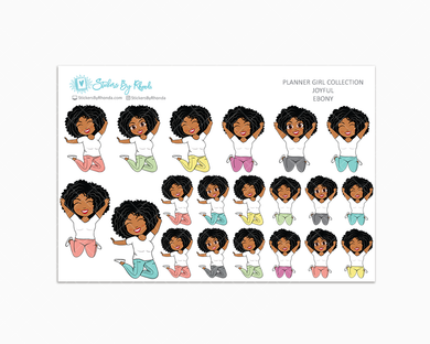 Ebony - Joyful Planner Stickers