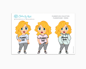 Emma - Limited Edition - Planner Babe Stickers
