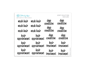 Hair Care - Script Collection