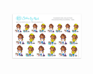 Housekeeping/Cleaning Planner Stickers - Mia