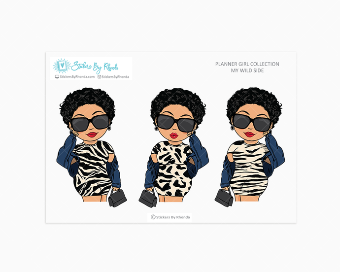 Jennifer With Sassy Cut - Wild Side - Limited Edition - Planner Girl Collection