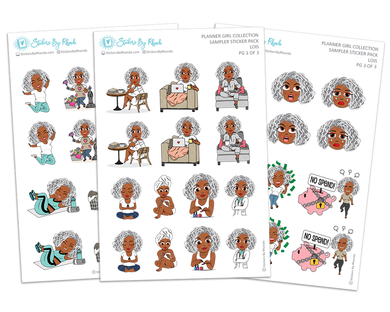 Lois - Sampler Sticker Pack - Planner Girl Collection