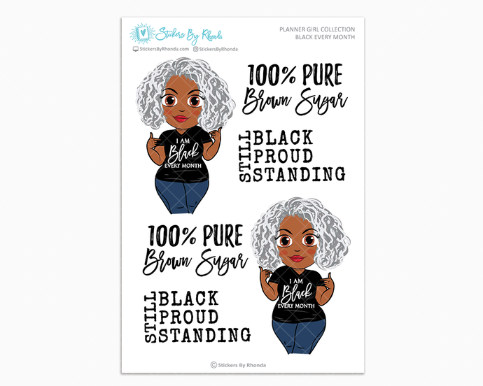 Lois - Black Every Month - Limited Edition - Planner Girl Collection