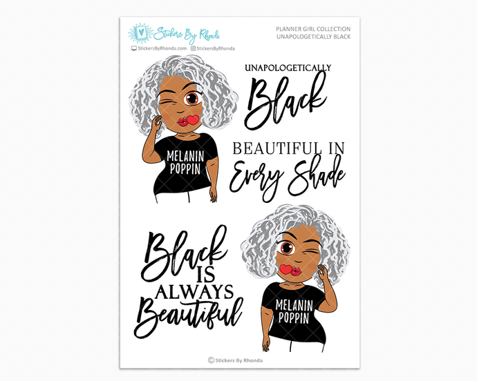 Sylvia - Unapologetically Black- Limited Edition - Planner Girl Collection