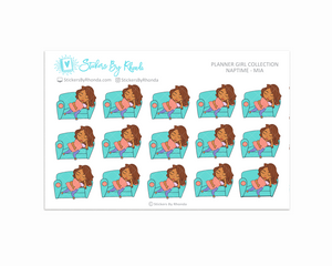 Naptime Planner Stickers - Mia