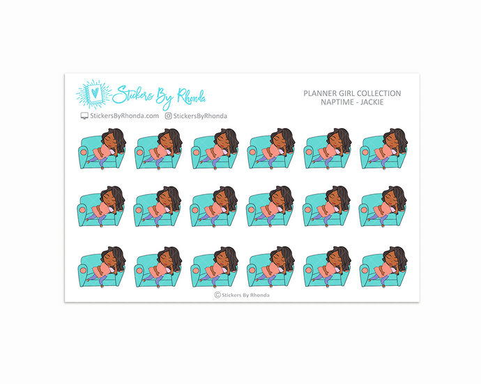Naptime Planner Stickers - Jackie