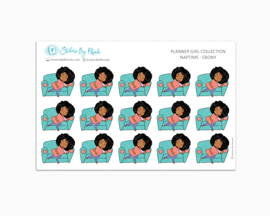 Naptime Planner Stickers - Ebony
