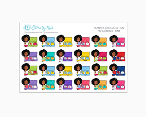 Pack/Unpack Planner Stickers - Tina