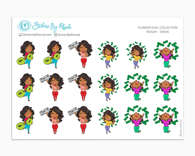 Payday Planner Stickers - Tanya