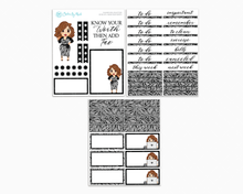 Amanda - Know Your Worth Petite Kit - Planner Girl Collection