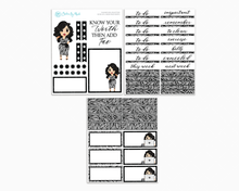 Crystal - Know Your Worth Petite Kit - Planner Girl Collection