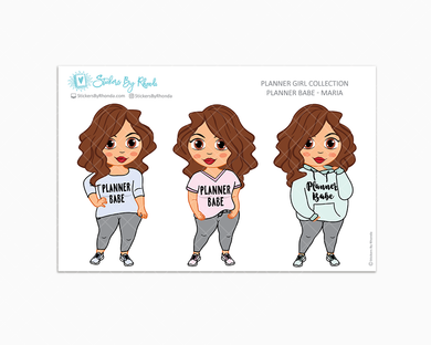 Maria - Limited Edition - Planner Babe Stickers