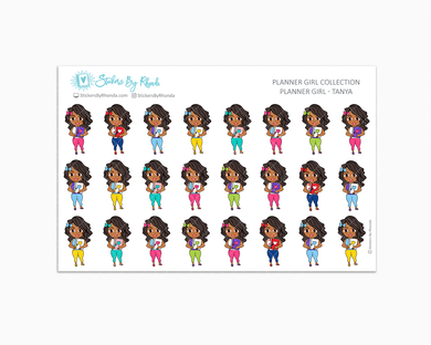 Planner Girl Planner Stickers - Tanya
