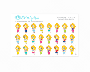 Planner Girl Planner Stickers - Emma