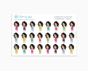 Planner Girl Planner Stickers - Crystal