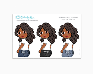 Jackie - Read My - Planner Girl Collection -  Limited Edition