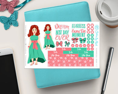 Planner Doll Stickers - Renee 2