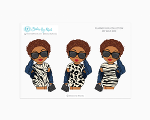 Mia With Sassy Cut - Wild Side - Limited Edition - Planner Girl Collection