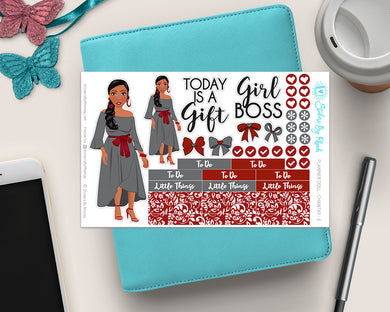 Planner Doll Stickers -  Simone