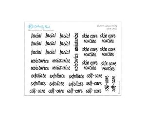 Skin Care - Script Collection