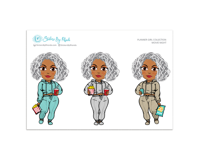 Sylvia - Movie Night - Limited Edition - Planner Girl Collection