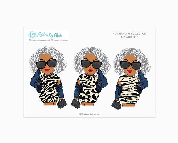 Sylvia - Wild Side - Limited Edition - Planner Girl Collection