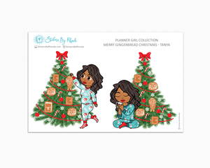 Tanya - Merry Gingerbread Christmas - Planner Girl Collection - Limited Edition - Christmas Stickers