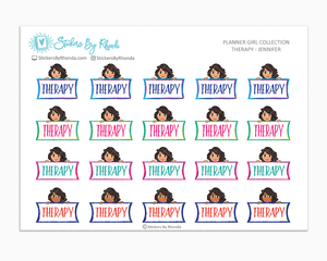 Therapy Planner Stickers - Jennifer