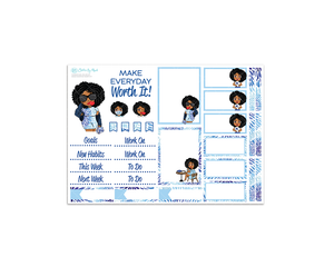 Make Everyday Worth It - 3 Page Deluxe Sticker Kit