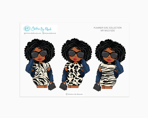 Tina - Wild Side - Limited Edition - Planner Girl Collection