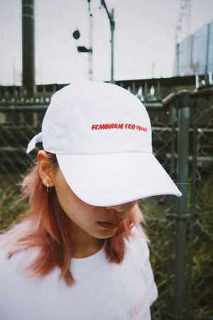 【OLD JAMESIE 】COLLAB  CAP WITH FEMINISM FOR EQUALITY