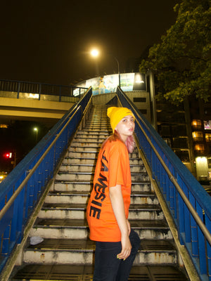 【JAMESIE ORIGINAL】ORANGE LOGO TEE