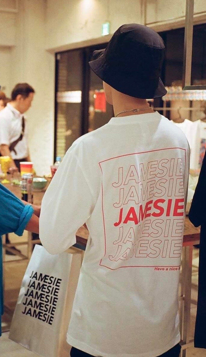 【OLD JAMESIE 】THANK YOU LONG TEE