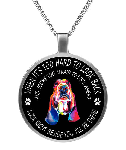 BASSET LOVER - SILVER NECKLACE