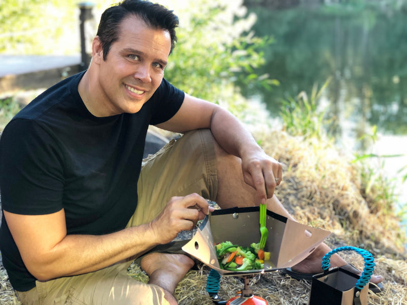 Cooking on the Trail with the portable Bear Bowl cook pot! On ABC's Shark Tank, October 7, 2018!