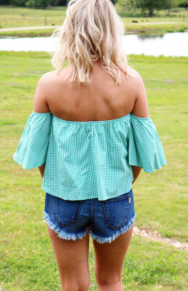 Turquoise Dallas Top