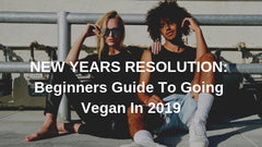 NEW YEARS RESOLUTION: Beginners guide to going vegan in 2019