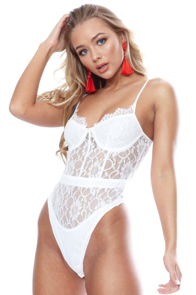 Anna Bodysuit- White